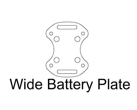 Battery Plate: Wide