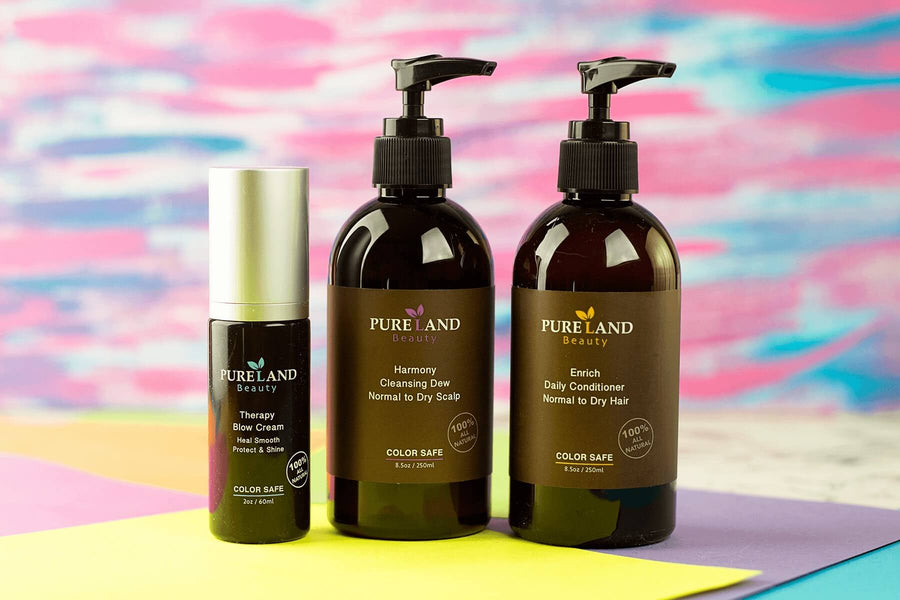 100% PLANT-BASED HAIR PRODUCTS THAT WON'T STRIP YOUR HAIR COLOR | Purelandcare