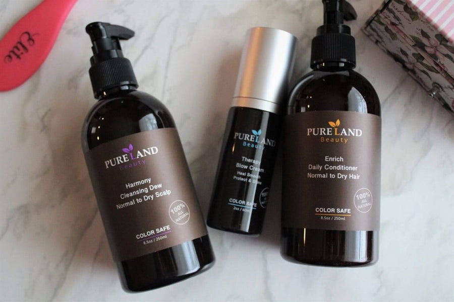 100% Natural Hair Care With Pureland Beauty  | Purelandcare