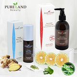 Pureland Beauty Therapy Blow Cream - Leave-In Hair Repair Treatment - Hydrating Hair Mask for Sensitive Scalp and Dry Hair - Natural Hair Care - Chemical-Free and Plant-Based