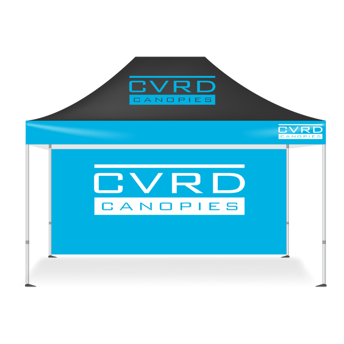 Custom Printed Pop Up Tent Back Walls