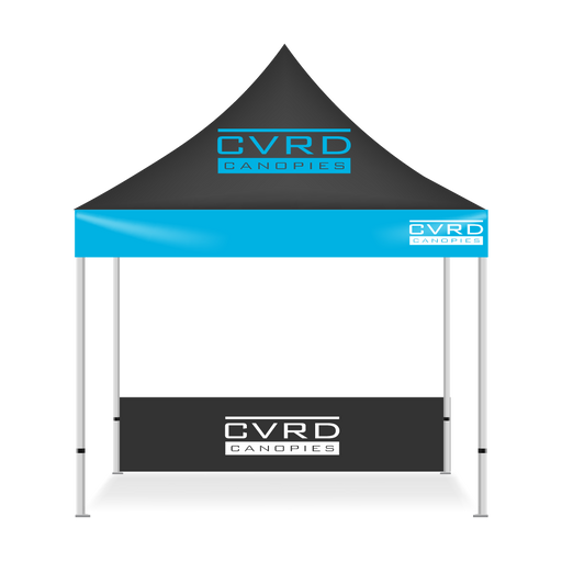 Custom Printed 10x3 Pop Up Tent Side Skirts