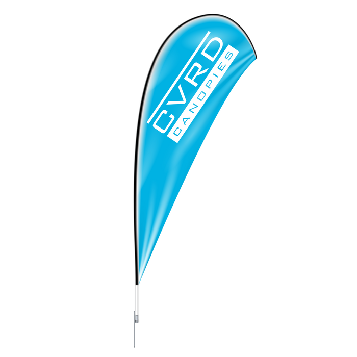 Custom Printed Teardrop Advertising Flags