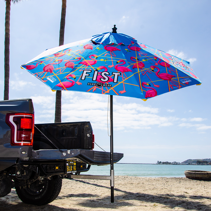 FIST™ Hand Wear Lazered Flamingo Signature Tail Gate Umbrella