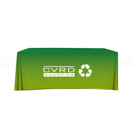 100% Recycled Custom Printed Fitted Table Covers