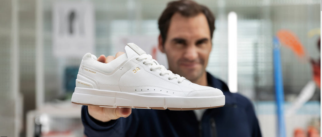 THE ROGER Centre Court | White/Gum | Tennis inspired sneaker by On Running & Roger Federer
