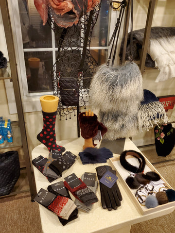 Stocking Stuffers | Cashmere Socks, Bags, Hair Accessories, Keyrings and more