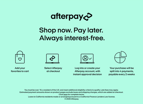afterpay | Shop now pay later