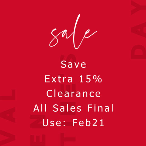 Sale | Save Extra 15% off Clearance Sale