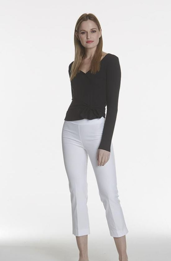Dressing Made Easy | Avenue Montaigne Pull On Pants