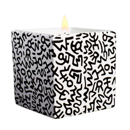 Keith Haring Black Square Candle | Shop Fragrant Candles