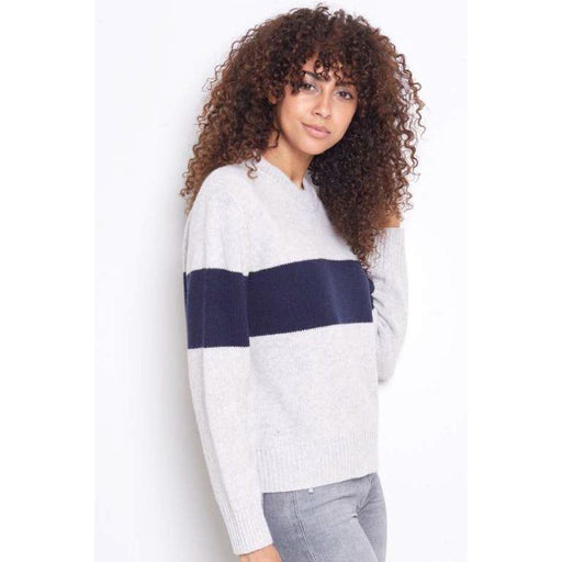 SWTR Chunky Stripe Crew Sweater 112-M7 | Clearance Sale | Final Sale