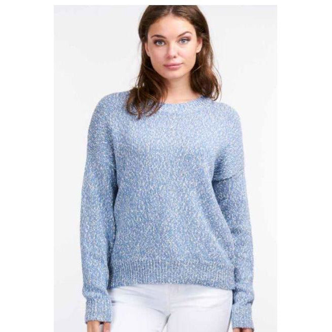 REPEAT Cashmere Cotton Crew Neck Pull Over 400183 | Shop REPEAT Cashmere today