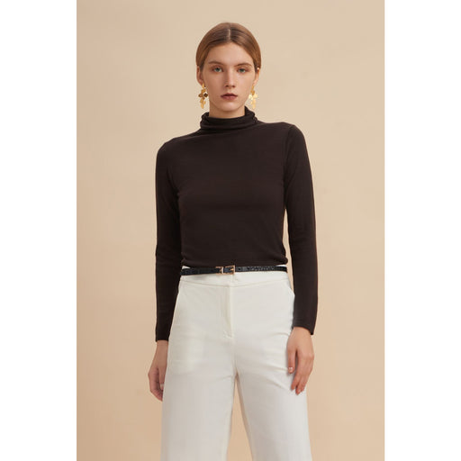 W. Cashmere Worsted  Baby Cashmere Turtleneck