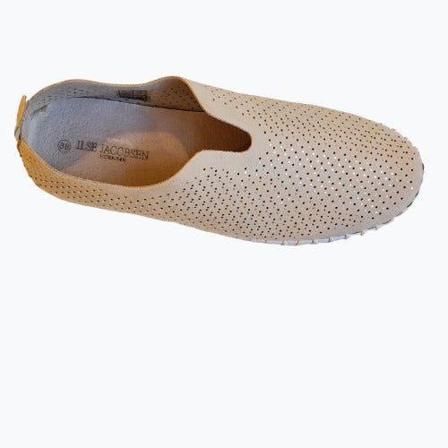 Ilse Jacobsen Tulip138LUX Perforated Slip On Sneakers