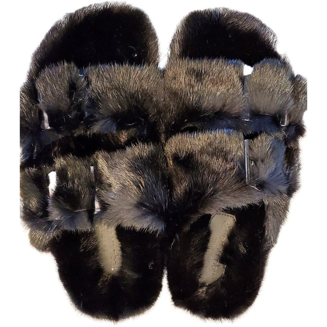 Linda Richards Mink Slides MKS-01 | Black