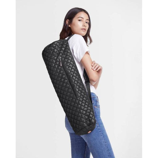 MZ Wallace Matt Quilted Bag | Black
