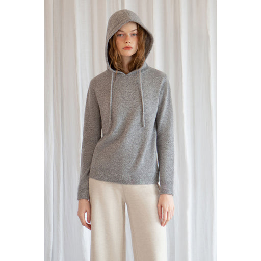 W. Cashmere Sisi 100% Cashmere Hoodie Sweater