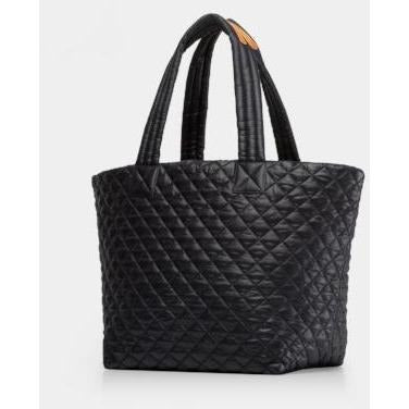 MZ Wallace Medium Metro Tote | Black Quilted Bag
