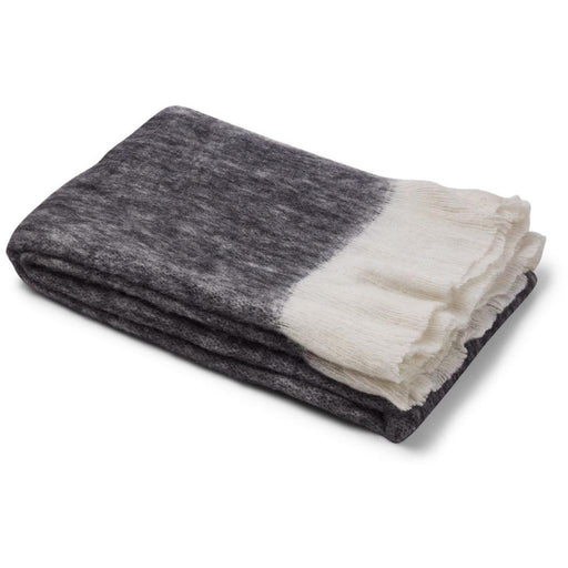 Natures Collection Wool Blend Throw NCL1361 Black