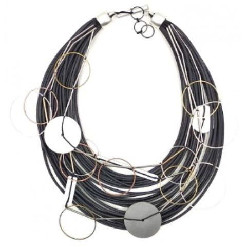 Christina Brampti Multi-Cord Necklace CB-2095B