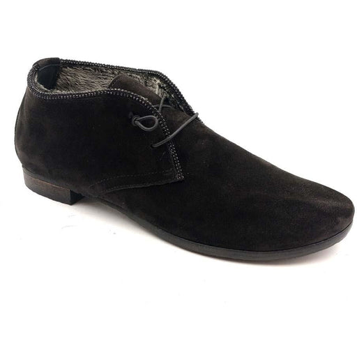 Donna Carolina Chukka Camoscio Nero Suola Krok Nero 42.673.150W | Clearance Final Sale