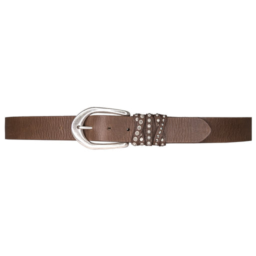 Streets Ahead Crista Studded Multi-Loop Leather Belt 47405