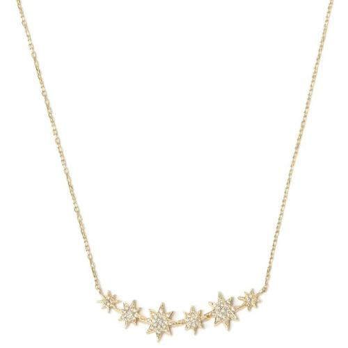 Anzie Fine Jewelry | North Star Bar Diamond Necklace