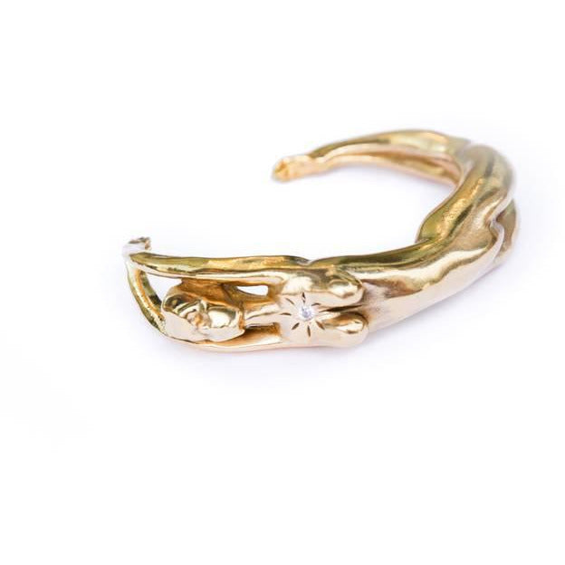 Nina Berenato Goddess Cuff Bracelet | Clearance Sale | No Return