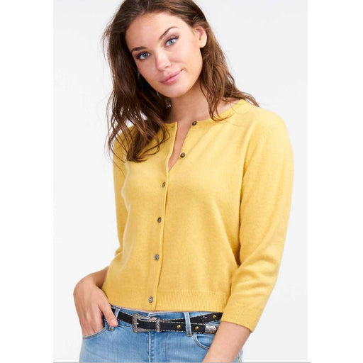 REPEAT Cashmere Cropped Cardigan 100106S191 | Sale Clearance | Final Sale