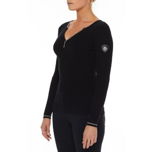 Alp N Rock Kourtney Henley Shirt F20LSH01 | Black