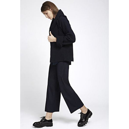 Avenue Montaigne Alex Cropped Wide Leg Pant Crepe F1226