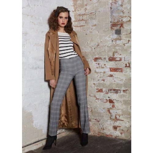 Avenue Montaigne Becca Madras Plaid Pull On Pants F1484 | Buy now and enjoy free domestic shipping on all orders $100 or more.