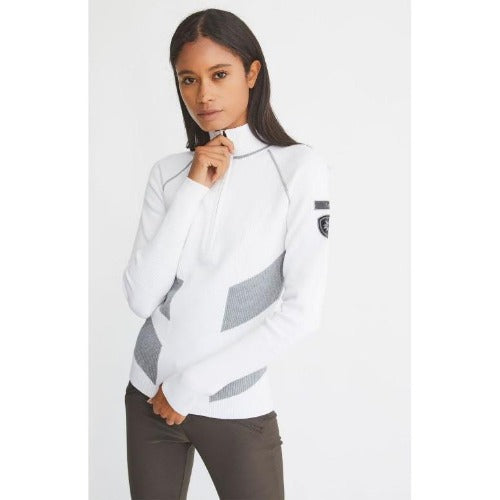 Alp N Rock Lara 1/2 Zip Sweater | White
