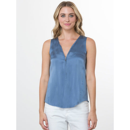 go>Go Silk Iconic Go Zippy Tank Luxe Silk T952 Lake |  Buy Go Zippy Tank Luxe Today