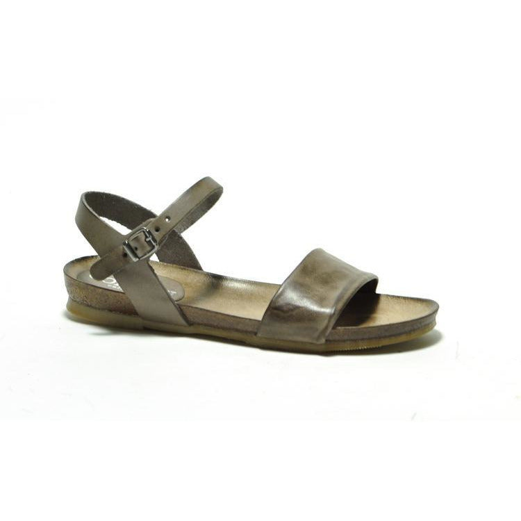Cordani Shoes Sidney Flat Taupe Leather Sandal | Shop Cordani Shoes