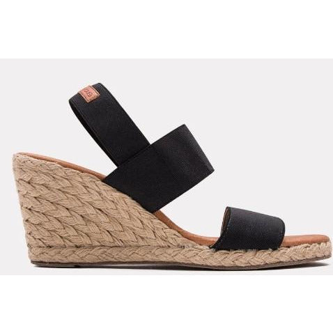 Andre Assous Allison Stretch-Strap Wedge Espadrilles
