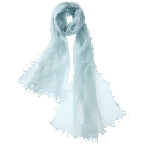 Captiva Cashmere Alta Featherweight Cashmere Scarf Ice | Buy Captiva Cashmere Featherweight Scarves Today