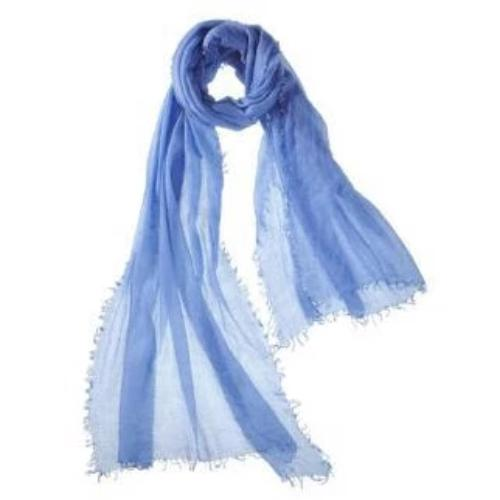Captiva Cashmere Alta Featherweight Cashmere Scarf Periwinkle | Buy Captiva Cashmere Featherweight Scarves Today
