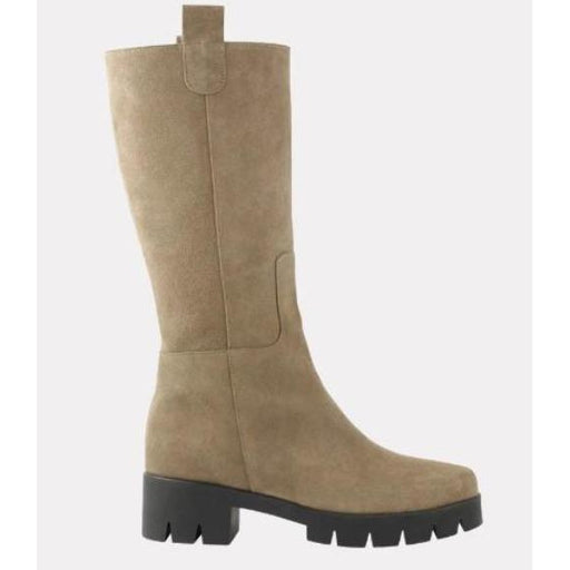Andre Assous Etta Taupe Suede Boot