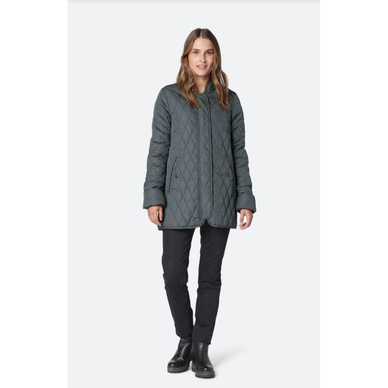 Ilse Jacobsen Hornbæk Art Padded Quilted Car Coat Art 18