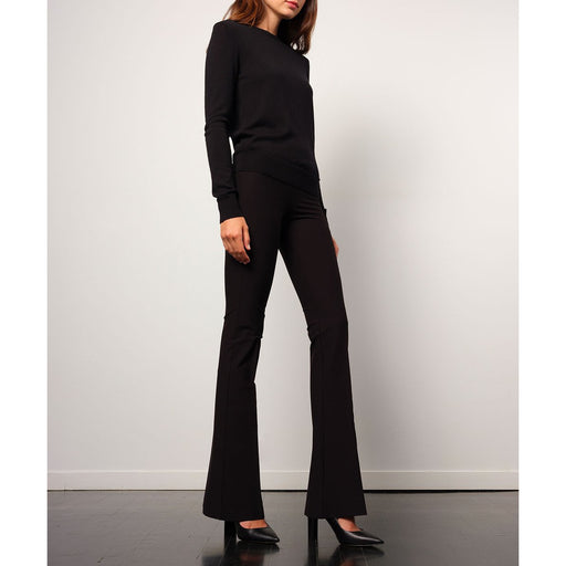 Avenue Montaigne Bellini Pull On Flare Pant Corduroy F1451 | Clearance Final Sale