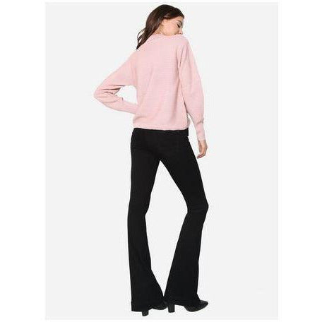 James Jeans Shayebel Black Swan Flares | Shop James Jeans Premium Denim