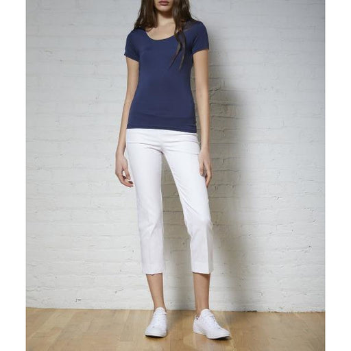 Avenue Montaigne Brigitte Pull On Cropped White 1145