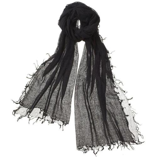 Captiva Cashmere Alta Featherweight Cashmere Scarf Ebony | Buy Captiva Cashmere Featherweight Scarves Today