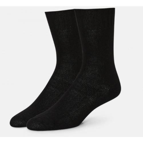 B.ELLA Este Solid Wool and Cashmere Blend Crew Sock | Caviar