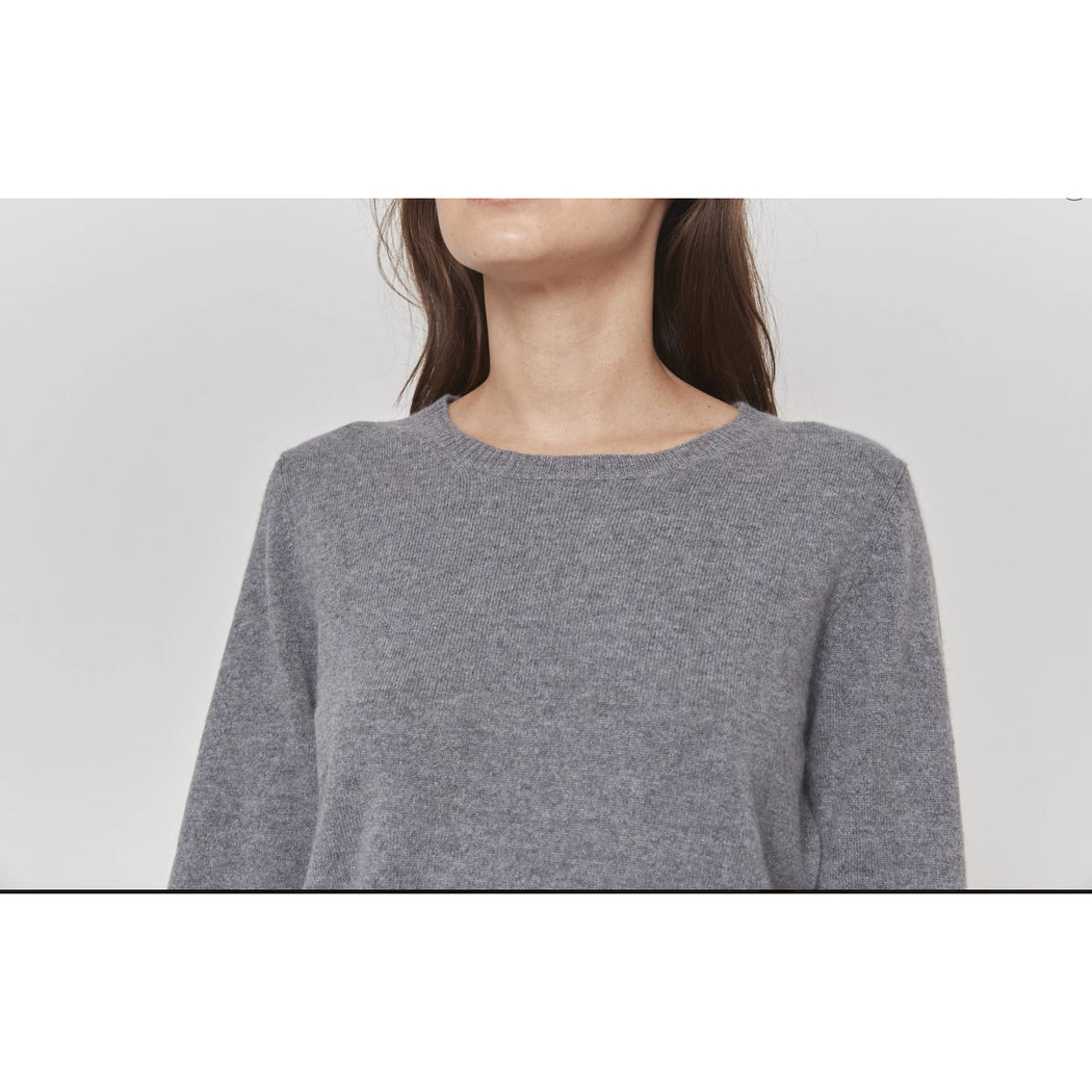 W. Cashmere Mia 100% Cashmere Crew Neck Pullover Sweater 192061 | Clearance Final Sale