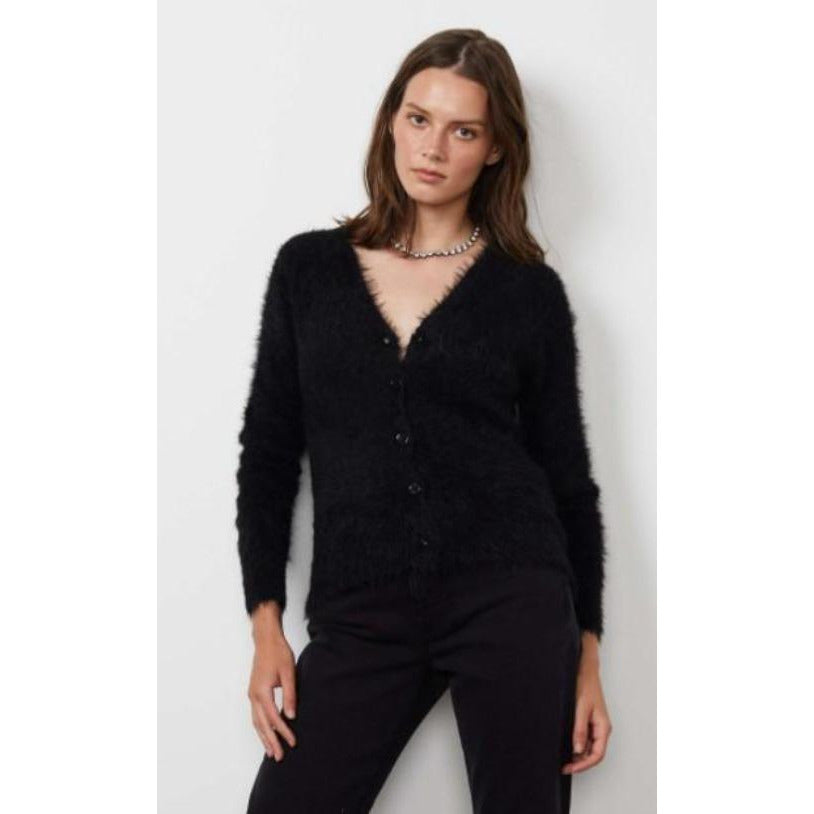 Velvet by Graham & Spencer Elle Button Front Cardigan | Clearance Final Sale