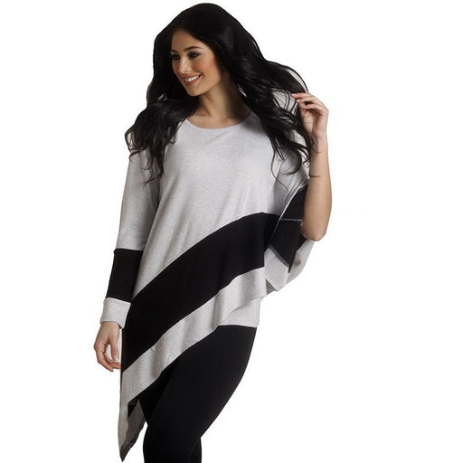 French Kyss Soft Asymmetrical Top