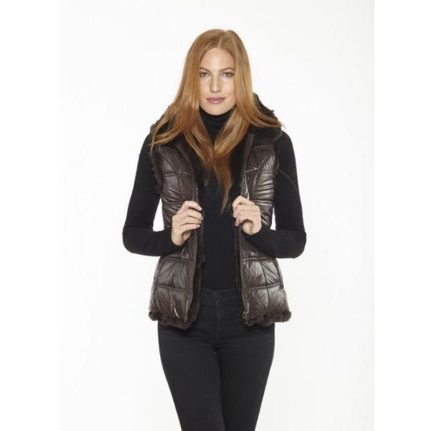 Linda Richards Rex Zip Reversible Vest FK260